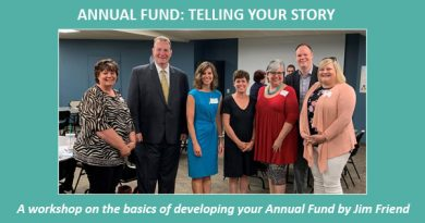 Annual Fund: Telling Your Story