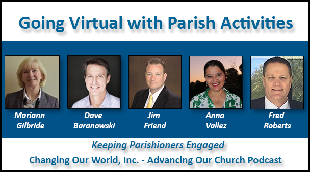 Going Virtual with Parish Activities